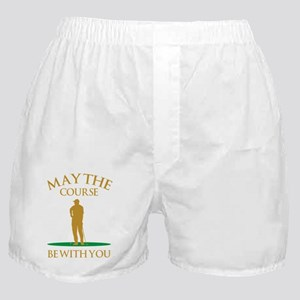 May The Course Be With You Boxer Shorts