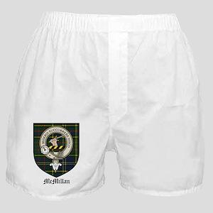 McMillan Clan Crest Tartan Boxer Shorts