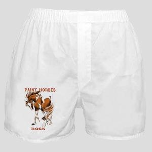 Paint Horses Rock Boxer Shorts