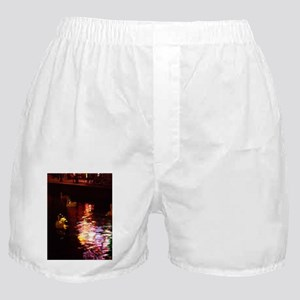 red light district in amsterd Boxer Shorts