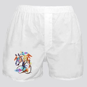 Bright Horse Boxer Shorts
