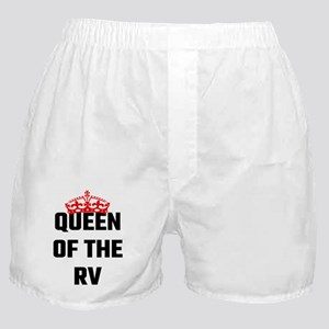Queen Of The RV Boxer Shorts