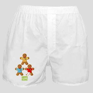 Star Trek Gingerbread Tree Boxer Shorts