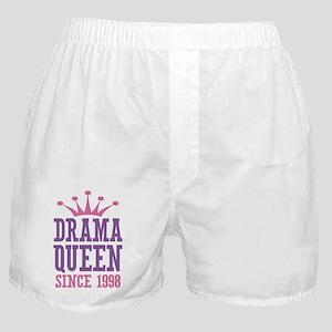 Drama Queen Since 1998 Boxer Shorts