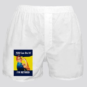 Rosie The Retired Riveter Boxer Shorts