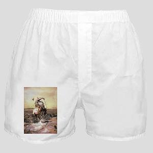 cowboy art Boxer Shorts