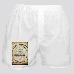 COFFEE WITH A FRIEND Boxer Shorts