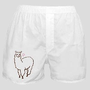 Cute Alpaca Boxer Shorts