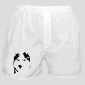 Husky Bi-Eye Husky Dog Boxer Shorts