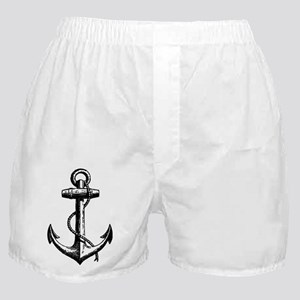 Vintage Anchor Boxer Shorts