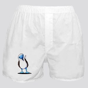 Blue Footed Booby Boxer Shorts