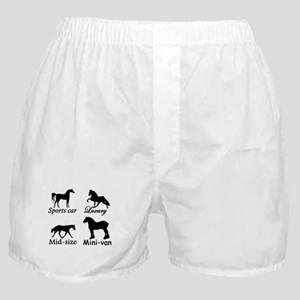 Horse Cars Boxer Shorts