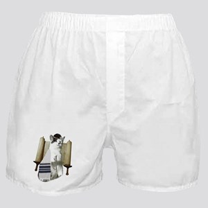 catmitzvah for dark Boxer Shorts