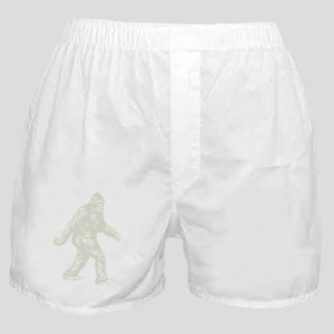 GONE SQUATCHIN BIGFOOT T SHIRT Boxer Shorts