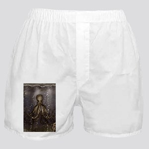Octopus' lair - Old Photo Boxer Shorts