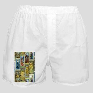 Mucha's Night and Day Boxer Shorts