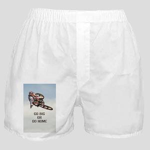 Motocross Rider Boxer Shorts