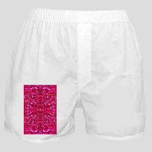 hot pink glitter Boxer Shorts