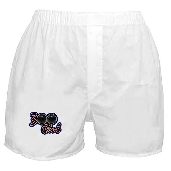300 CLUB - PERFECT GAME SCORE BOWLING Boxer Shorts