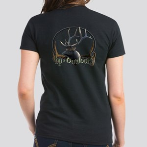 bp-Outdoors Buck Logo Women's Dark T-Shirt