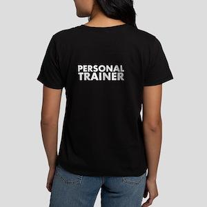 Personal Trainer Black/White Women's Dark T-Shirt