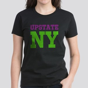 UPSTATE NEW YORK (ATHLETIC) Women's Dark T-Shirt