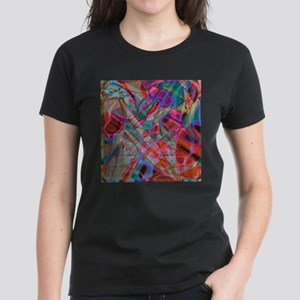 Colorful Stained Glass G1 Women's Dark T-Shirt