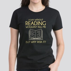 Reading Women's Dark T-Shirt