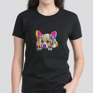 Colorful Corgi Puppy T-Shirt