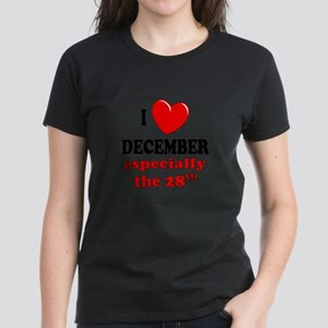 December 28th Women's Dark T-Shirt