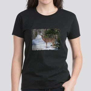 Winter Buck Women's Dark T-Shirt
