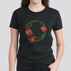 ART NOUVEAU ROSES Women's Dark T-Shirt