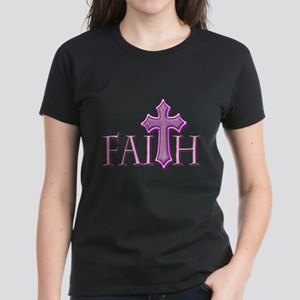 Woman of Faith Women's Dark T-Shirt