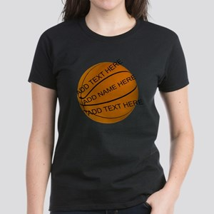 Personalized Basketball Women's Classic T-Shirt