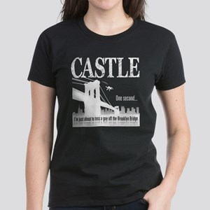 Castle Bridge Toss Women's Dark T-Shirt