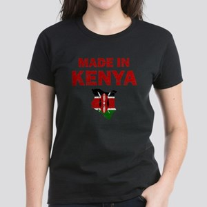 Made In Kenya Women's Dark T-Shirt