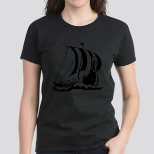 Viking Ship Women's Dark T-Shirt