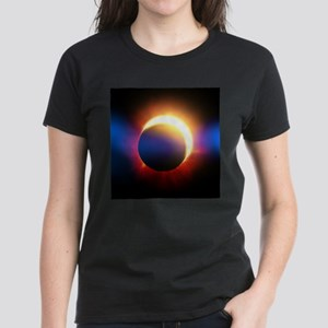 Solar Eclipse Women's Dark T-Shirt