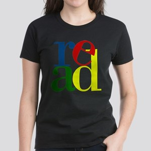 Read - Inspirational Education Women's Dark T-Shir