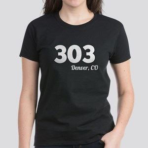 Area Code 303 Denver CO T-Shirt