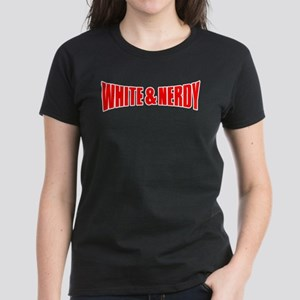 White & Nerdy Women's Dark T-Shirt