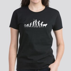Evolution of Sheeple Women's Dark T-Shirt