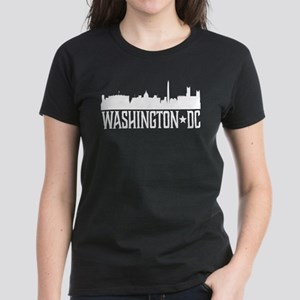 Washington, DC Skyline Women's Dark T-Shirt