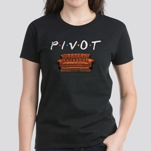 Friends Pivot! Pivot! Women's Dark T-Shirt