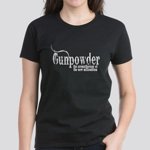 Gunpowder Gun Humor Women's Dark T-Shirt
