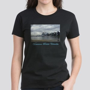 Downtown Vancouver BC Women's Dark T-Shirt
