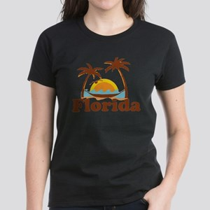 Florida - Palm Trees Design. T-Shirt