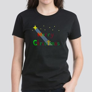 Christmas Star Women's Dark T-Shirt