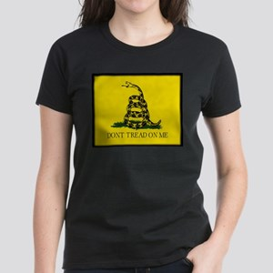 """Don't Tread On Me!"" Women's Dark T-Shirt"