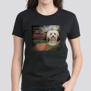 Why God Made Dogs - Havanese Women's Dark T-Shirt